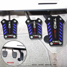 Autorace Pedal Mobil Manual/Non-Slip Pedal/Cover Kopling/Rem/Gas