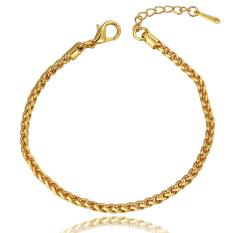 B091 Good Quality Nickle Free Antiallergic 2015 New Fashion Jewelry 18K Gold Plated Bracelets - Intl