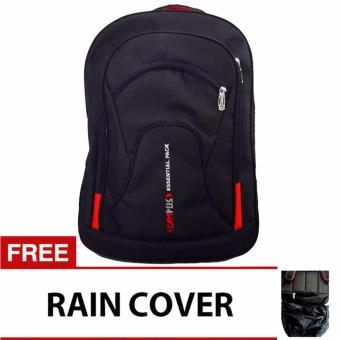 Bag & Stuff Campus Double Pocket Laptop Backpack with Raincover
