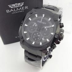 Balmer - Jam Tangan Pria - Rantai - BL 7889 Stainless Steel - Chrono Aktif