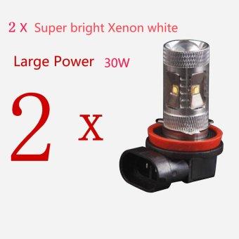 ... H16 Putih 6000 K Lampu LED 5730 5630 SMD Kabut ... Source · Baru Kualitas Tinggi Tenaga Tinggi 30 Watt 720LMS HID Putih H8 LED DRL .
