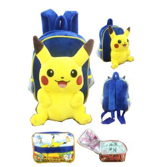 Grab It Tas Ransel Sekolah Anak Boneka Import Pooh 25cm bgc go pikachu tas ransel anak