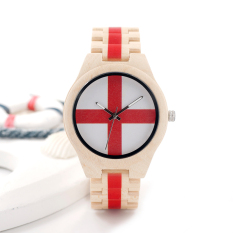 BOBOBIRD Natural All Maple Wood Watches Brand Designer With Japanese 2035 Movement For Gift - intl