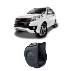 Bosch Klakson Mobil Toyota Rush H3F Digital Fanfare Keong Black 12V - 0986AH0601 - 2 Buah/Set - Hitam
