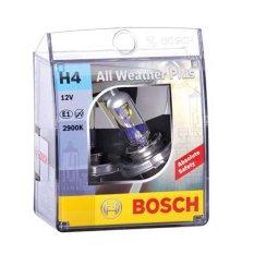 Bosch Lampu Mobil All Weather Plus H4 12V 60/55W P43t 1 - Pcs - Putih