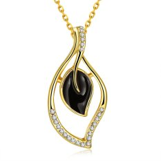 BPN920-A Wholesale Nickle Free Antiallergic 18K Real Gold Plated Necklace Pendants New Fashion Jewelry (Intl)