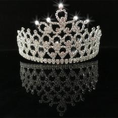 pesta Prom Tiara mahkota kristal berlian imitasi - International. Source · Bridal .