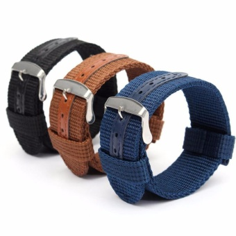 Buy 1 Get 3 Twinklenorth 24mm Nylon Nato Strap Nylon Military Watch Band Strap Watchband NATO-063 - intl