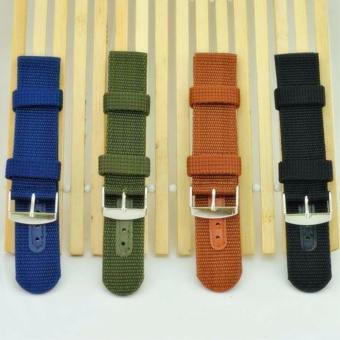 Buy 1 Get 4 Twinklenorth 18mm Nylon Nato Strap Nylon Military Watch Band Strap Watchband NATO-056 - intl