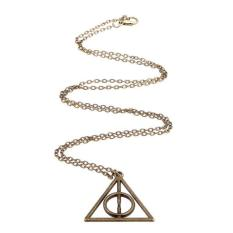 BUYINCOINS Hot Golden Snitch Watch Hermione Time Turner Hourglass Chain Necklace Jewelry