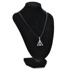 Buytra New Leather Cord Choker Charm Necklace Pendant Retro Boho Tibetan Silver 90.80s Harry Potter