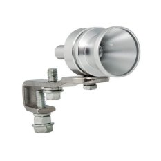CA 0434 Turbo Sound Whistle For Exhaust Muffler Pipe Sz Small Silver