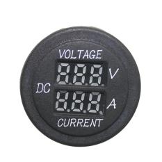 Car Motorcycle Digital Ammeter + Voltage Meter