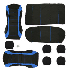Car Seat Cover Universal Fit Car Styling Car Cover Seat Protector (Blue) (Intl)