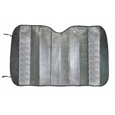 Car Sun Shield Visor - Tirai Gorden Penahan Anti Panas Matahari Kaca Depan Dashboard Mobil Model Lipat Aluminium