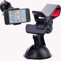 Car Universal Holder / Penjepit HP Gadget Di Mobile Rotation 360 Derajat