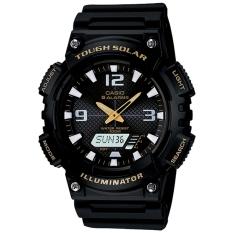 Casio Analog And Digital Watch AQ-S810W-1BV - Jam Tangan Pria - Hitam - Rubber