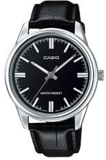 Casio Analog Watch - Jam Tangan Pria - Hitam - Strap Kulit - MTP-V005L-1AUDF