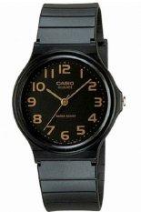 Casio Analog Watch Jam Tangan Unisex - Hitam - Strap Karet - MQ24-1B2LDF