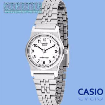 Casio Analog Watch - Jam Tangan Wanita - Silver - Strap Stainless Steel - LQ-