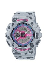 Casio Baby-G Women's Grey Resin Strap Watch BA-110FL-8A