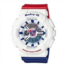 Casio Baby-G Women's White Resin Strap Watch BA-110TR-7A