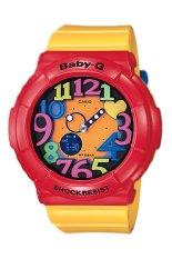 Casio Baby-G Women's Yellow Resin Strap Watch BGA-131-4B5 (Int: One Size)