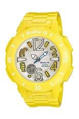 Casio Baby-G Women's Yellow Resin Strap Watch BGA-170-9B