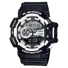 Casio G-Shock GA-400-1A - Black White