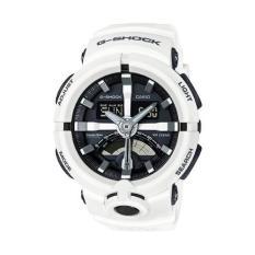 Casio G-Shock GA-500-7ADR - Jam Tangan Pria - Resin - Putih (White)