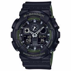 Casio G-Shock Original Ga-100L-1A Watch Black - Jam Tangan Casio G Shock