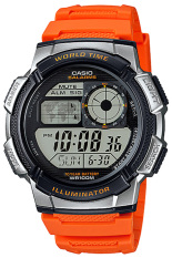 Casio Jam Tangan Pria AE-1000W-4BVDF- Orange - Karet