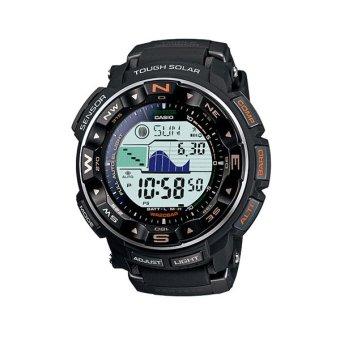 Casio Jam Tangan Pria Protrek PRG-250-1DR - Hitam Orange