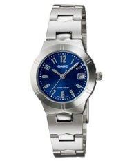Casio Analog LTP-1241D-2A2 Women's Watch - Biru