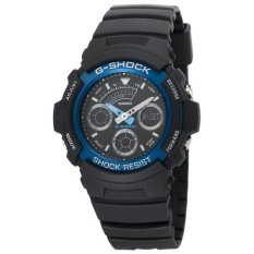 Casio Men's AW591-2A G-Shock Ana-Digi Chronograph Shock Resistant Sport Watch