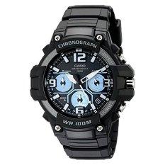 Casio Men's MCW-100H-1A2VCF Heavy Duty-Design Chronograph Black Watch (Intl)