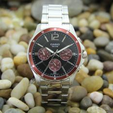 Casio mtp-1374d kasual bisnis asli Shi Ying menonton laki-laki menonton jam tangan