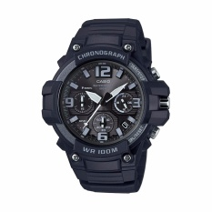 Casio Sports Men's Watch MCW-100H-1A3V Heavy Duty Design Watch With Black Silicone Band Watch - Intl