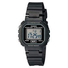 Casio Women's LA20WH-1ACF Classic Digital Black Resin Watch (Intl)