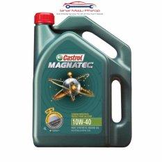Castrol Magnatec 10W-40 API SN/CF - Pelumas Oli Mesin Mobil Bensin 4 Liter