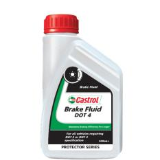 Castrol NON Engine Oil - Brake Fluid Dot 4 (0.5 Liter)
