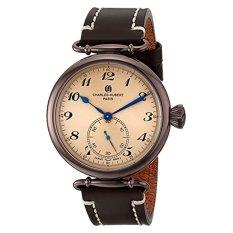 Charles-Hubert, Paris Men's 3957-N Premium Collection Analog Display Japanese Quartz Brown Watch (Intl)