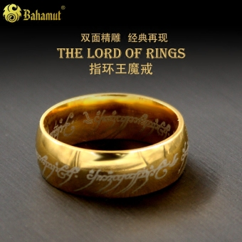 Cincin Wang Shishang pria titanium cincin Lord of the Rings Lord of the Rings