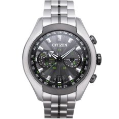 Citizen CC1054-56E Promaster Eco-Drive Satellite Wave-Air Titanium Men's Watch - Silver