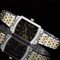 CITOLE Authentic West Chi Westchi Fashion Square Silver Lady Square Quartz Watch W6126L (1 X Men Watch)