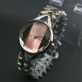 ... CK Jam tangan wanita Design Exclusive Stainless steal Cevin Klien 0911
