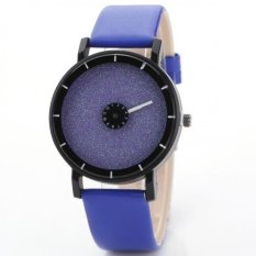 Coconie Fashion Casual Watches Men's Women's Leather Candy Colored Frosted Quartz Wrist Blue Free Shipping