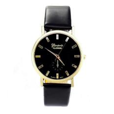 Coconie Womens Lady Fashion Geneva Roman Leather Band Analog Quartz Wrist Watch - Intl