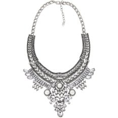 Cocotina Elegant Women's Pendant Chain Infinity Choker Chunky Statement Bib Necklace Party Cocktail Jewellery (Intl)