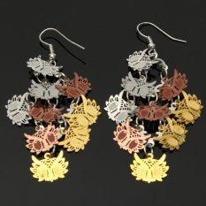 Colorful Chic Womens Ear Stud Earrings Eardrop Jewelry Mode1 - Intl